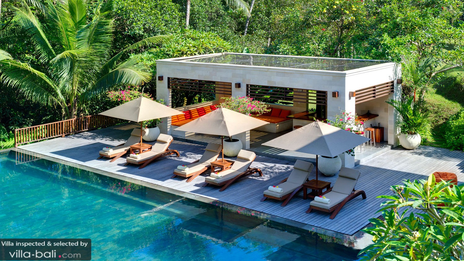 Arsana estate in tabanan bali 4 bedrooms best price for Pool villa design