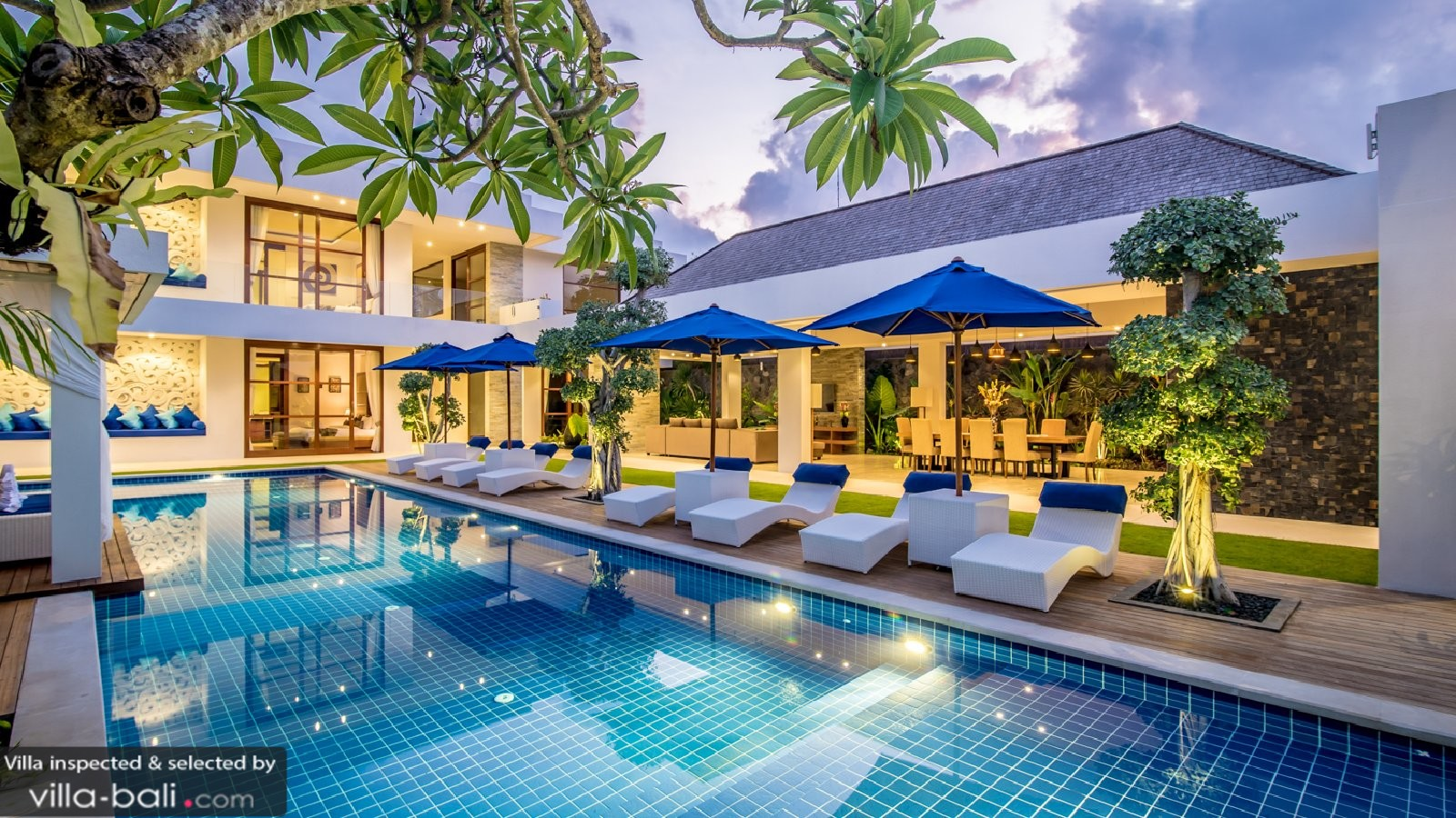 Freedom Villa In Seminyak Bali 5 Bedrooms Best Price