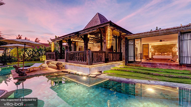 Villa River Garden In Umalas  Bali  3 Bedrooms